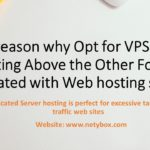 The reason why Opt for VPS Web hosting Above the Other Forms Associated with Web hosting service