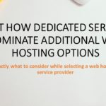 Just how Dedicated Servers Dominate Additional Web Hosting Options