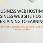 Business Web Hosting – Business Web Site Hosting Pertaining to Earnings