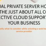 Virtual private server Hosting Is the Just about all Cost Effective Cloud Support for Your Business