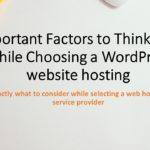 Changing Your Web Hosting Provider – What you ought to do
